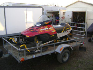 ***PARTING OUT SLEDS*** 2003 MXZ 500 SKI-DOO (WITH 800 HOOD)