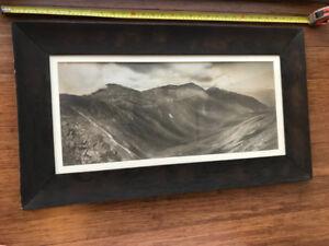 Framed 1920s Yardlong Panoramic Photo