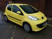 Peugeot 107 1.0 2007 Urban. 1 OWNER. WARRANTY. £20 TAX. RCL. CD/AUX. EW.