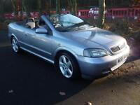2005 55 reg Vauxhall/Opel Astra 1.8i 16v Exclusiv convertible