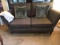 Grey DFS 2 Seater Sofa - Exc Cond - CAN DELIVER