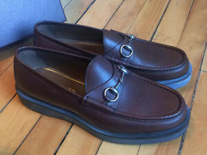 GUCCI SHOES LOAFERS HORSEBIT SIZE 9 FITS LIKE 10.5-11 BRAND NEW
