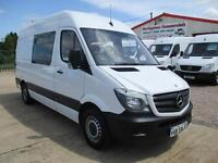 2015 MERCEDES BENZ SPRINTER 313 MWB, CREW, MESS UNIT, WELFARE TOILET VAN 20k