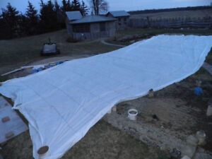 26 x 56 Plastic Sheets - Frost Protection, Car Port Cover
