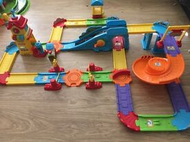 Toot toot train station
