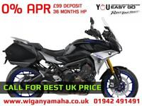 YAMAHA TRACER 900 GT NEW FOR 2018 WITH PANNIERS, HEATED GRIPS, QSS...