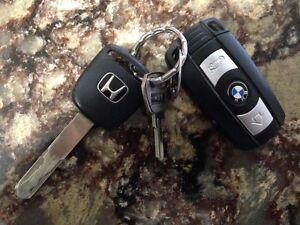 lost key are honda, bmw Kitchener / Waterloo Kitchener Area image 1