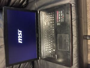 MSI GAMING LAPTOP FOR SALE - 750 Negotiable