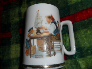 Norman Rockwell Mug 1985.  $20 Prince George British Columbia image 1
