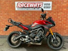 YAMAHA TRACER 900 2016 16 REG 20,379 MILES RED USED MOTORCYCLE 847CC