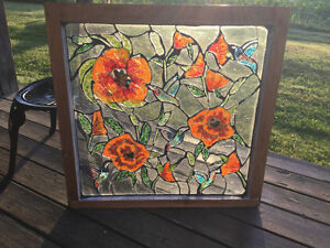 30% OFF ALL INSTOCK MOSAIC STAINED GLASS WINDOWS! Cambridge Kitchener Area image 1