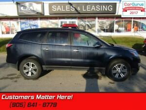 2017 Chevrolet Traverse 1LT  AWD, CAMERA, 8 PASS, 8 WAY POWER SE