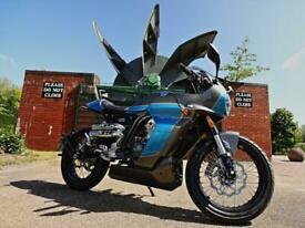 FB Mondial HPS Pagani 125cc classic retro cafe racer style Italian motorcycle