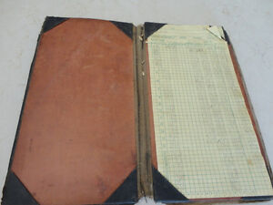 Vintage Leather Belt Sachel Pouch &Vintage Accounting Tally Book Kitchener / Waterloo Kitchener Area image 6