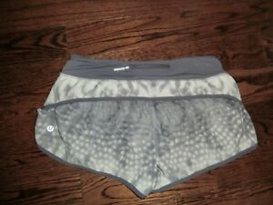 LuluLemon Speed Shorts Size 6