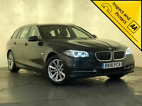 2016 BMW 520D SE AUTO SAT NAV LEATHER HEATED SEATS PARKING SENSORS SVC HISTORY
