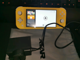 Nintendo Switch Lite Yellow Console Perfect condition