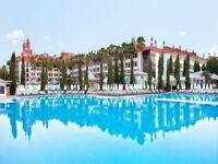 5* All inclusive holiday - Wow Topaki Palace, Lara Beach, Turkey (3adults/2children)