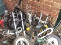 Joblot motorbike/pitbike parts read ad!