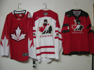 IIHF NIKE ADIDAS CANADA OFFICIAL HOCKEY JERSEY ADULT & YOUTH NWT