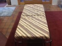 Single folding guest or children's bed Ideal for Christmas guests Good condition