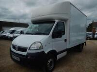 2008 57 VAUXHALL MOVANO LWB LUTON WITH TAIL LIFT 2.5 CDTI 55246 MILES ONLY DIESE