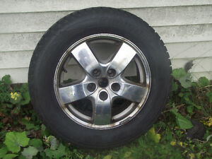 Reduced-4 Winter Studded tires on rims-Fits Chev