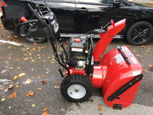 """27"""" TWO STAGE SNOW BLOWER"""