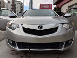 2009 Acura TSX w/Sport Trim Package & Paddle Shifters