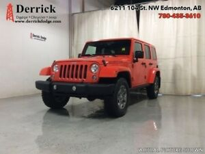 2015 Jeep Wrangler UnLtd Used 4WD Rubicon Nav Hard Top $241 B/W