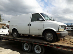 Cash paid for scrap cars and trucks.