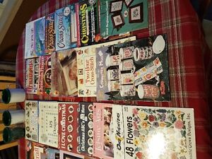 Cross Stitch huge bundle of books and more