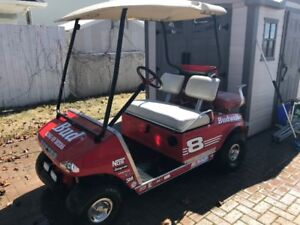 Custom Budweiser Golf Cart Club Car DS