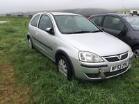 VAUXHALL CORSA TWIN PORT ONLY 67k MILES