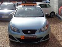 SEAT IBIZA 1.4 TDI S AC Black Manual Diesel, 2010