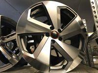 "20"" alloy wheels Alloys Rims tyre tyres 5x112 Audi seat soda Vw Volkswagen"