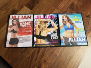 3 DVD d'exercices de Jillian Michaels