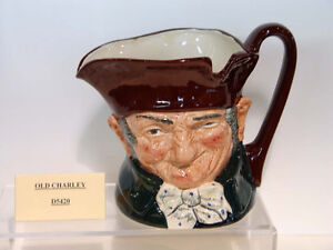 OLD CHARLEY, LARGE ROYAL DOULTON CHARACTER JUG