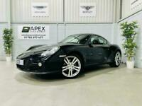 2012 Porsche Cayman 2.9 PDK Petrol Coupe Automatic * Black * Black Leather *