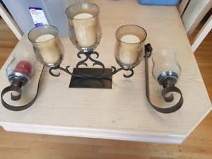 chandeliers en fer forgé