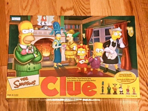 Simpson's Collectables Games and Figures (Benefits SPCA)