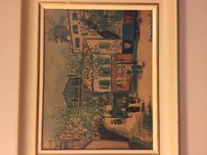 Maurice Utrillo framed prints