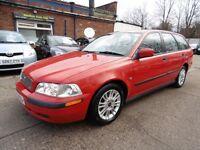 Volvo V40 1.9D S 102HP ( LONG MOT + CLEAN CAR) (red) 2001
