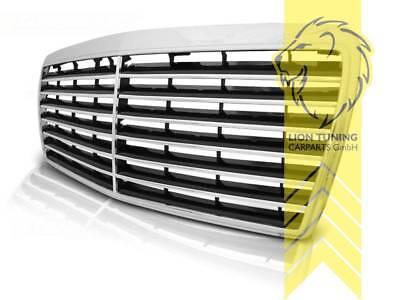 Sportgrill Kühlergrill für Mercedes Benz W124 S124 C124 A124 E-Klasse Avantage