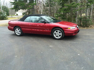 1997 Chrysler Sebring Convertible