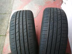 2 X 185 60 15 tyres