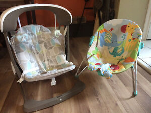 Baby bouncer and portable swing