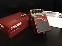 Boss BC-2 Combo Drive, FS/FT for an Octave pedal or Blues Driver