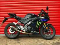 2020 YAMAHA YZF R125 LEARNER LEGAL CBT DELIVERY AVAILABLE MONSTER EDITION
