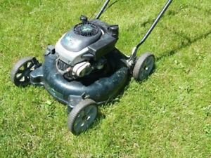 Handyman's Special Lawn Mower/Mulcher with Rear Bagger.
